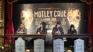 MÖTLEY CRÜE Confirm THE FINAL TOUR; ALICE COOPER to Join the Party!