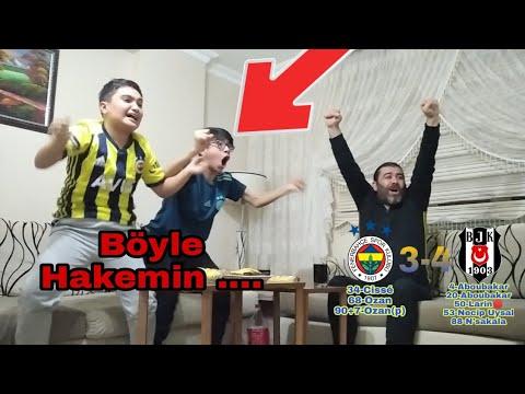 FANATİK FENERBAHÇELİLER BEŞİKTAŞ MAÇINI İZLİYOR [Fenerbahçe 3-4 Beşiktaş]