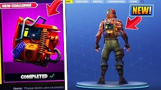 "*NEW* How To Unlock ""Rust Bucket"" BACK BLING SECRET CHALLENGE in Fortnite Battle Royale! (Brite Bag)"