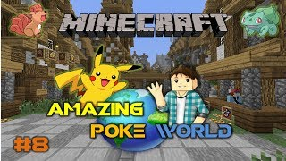 Minecraft: Amazing PokeWorld #8 - Продолжение турнира Покемонов (Игра на сервере)