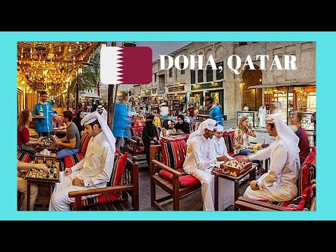 DOHA, EXPLORING the wonderful SOUQ WAQIF and MARKETS (QATAR)
