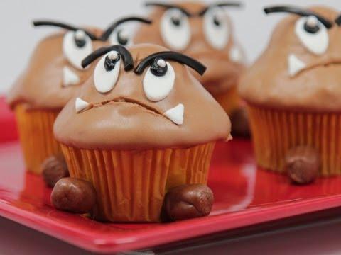 Goomba Cupcakes Qnb Youtube
