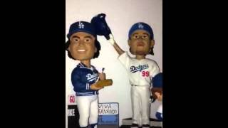 dodger bobblehead collection