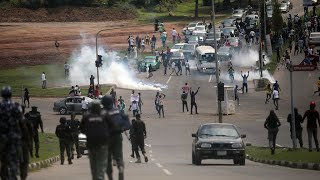Nigeria's Lagos imposes 24-hour curfew after anti-police protests turn violent