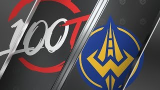 100 vs. GGS - Week 3 Day 1 | LCS Summer Split | 100 Thieves vs. Golden Guardians (2019)