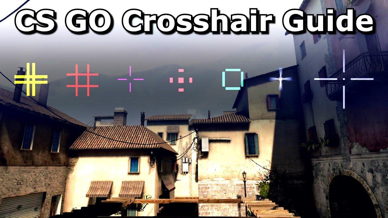 CS:GO Crosshair Customisation Tutorial - YouTube