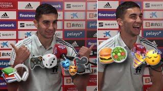'Emoji Challenge' con Ferran: ¿fiesta o siesta? ¿Haría lo que hizo Cristiano con las Coca-Colas?