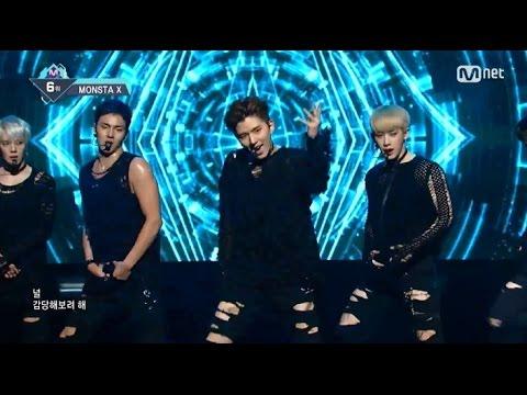 MONSTA X 「Stuck」�年8月11日放送「M COUNTDOWN」)