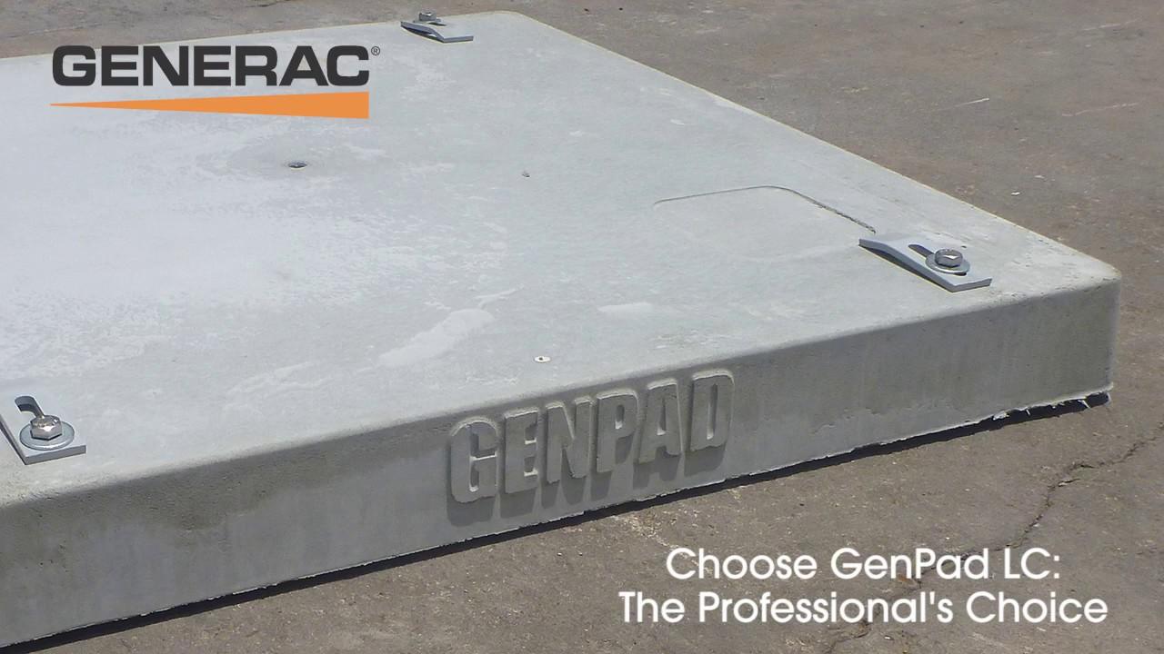 Generac Genpad Lc 10000005771 Youtube