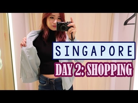 Shopping & Food in SINGAPORE | Day 2