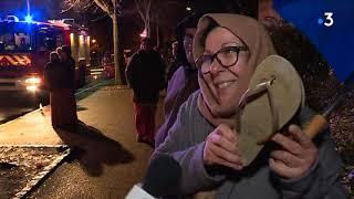 Gros incendie à Mulhouse : une centaine de personnes sans logement