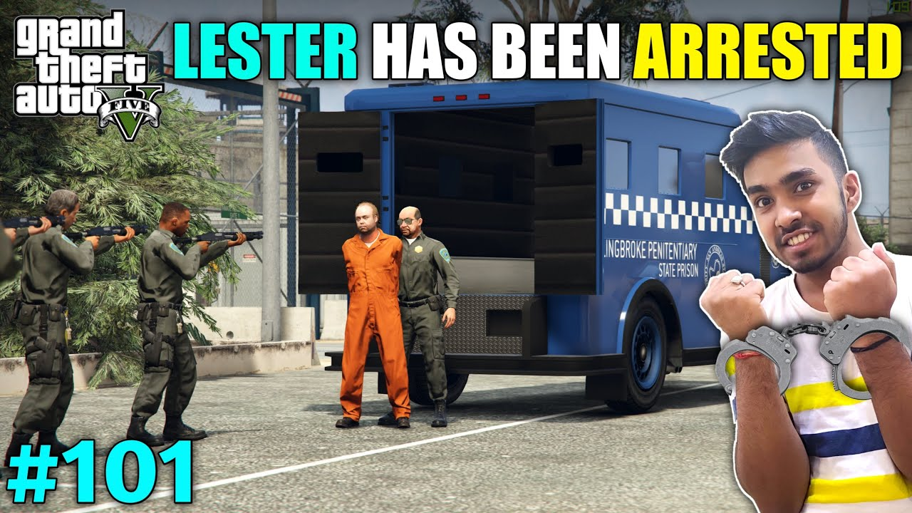 Download CAN WE SAVE LESTER FROM GOING TO PRISON | GTA V GAMEPLAY #101