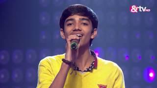 Nirvesh Dave Main rang Sharabaton ka | The Blind Auditions | The Voice India 2