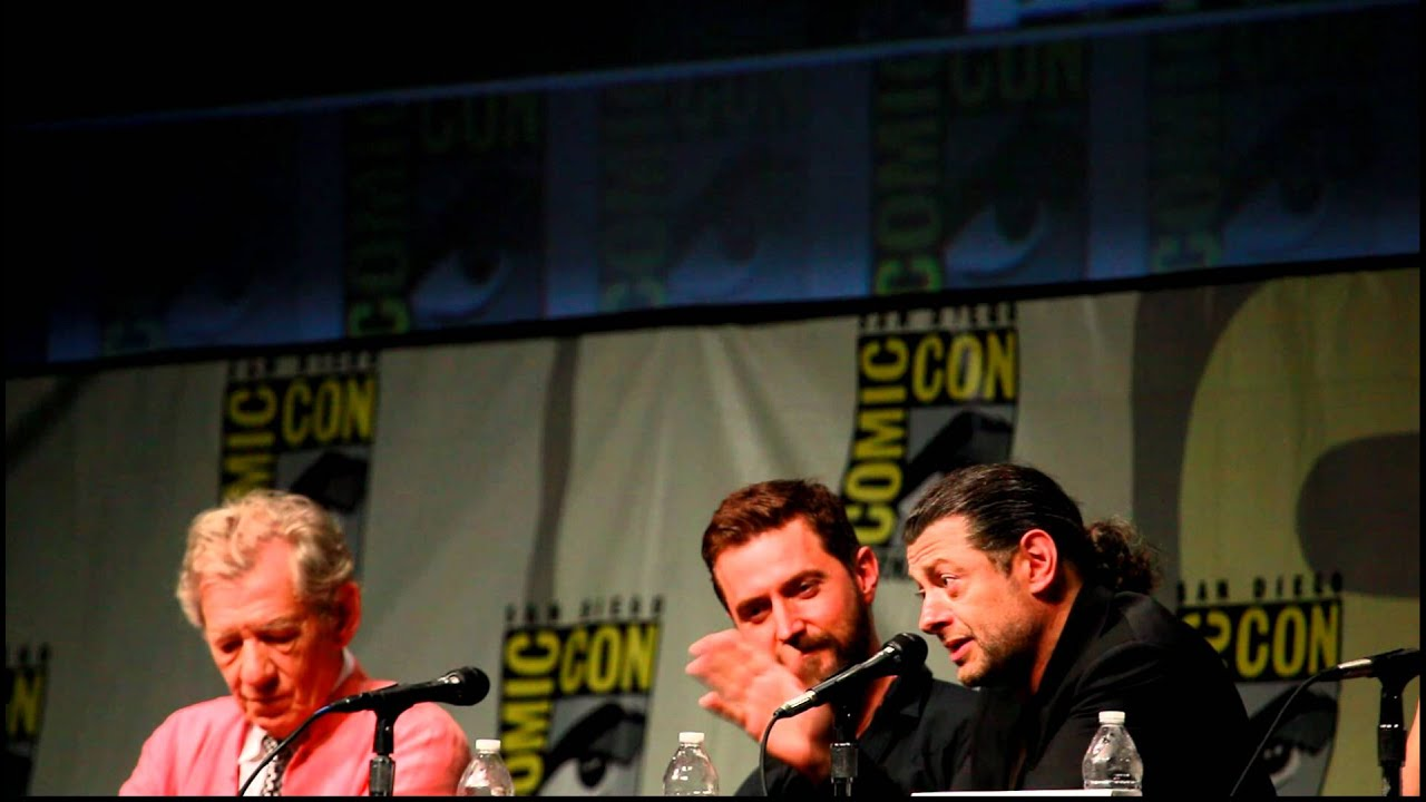 Download Andy Serkis at Comic-Con 2012 on working on The Hobbit