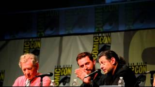 Andy Serkis at Comic-Con 2012 on working on The Hobbit