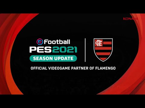 eFootball PES 2021 Flamengo announcement trailer