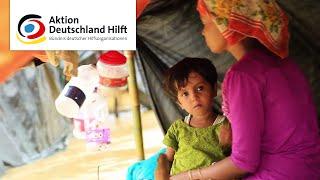 Nothilfe Rohingya - jetzt spenden: TV Spot Aktion Deutschland Hilft