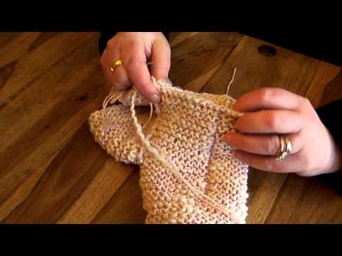 Childs Slipper Sock Knitting Pattern//Instructions from Knitwitzuk