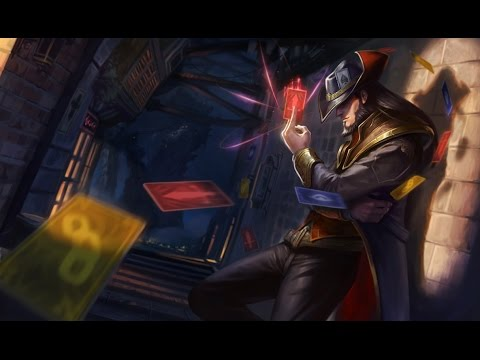 League of Legends - AP Twisted Fate (Ascension)
