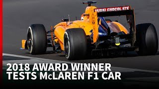 Driving an F1 car for the first time: Behind the Scenes at Tom Gamble's prize McLaren test