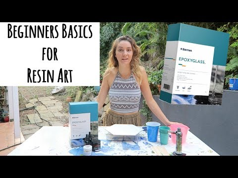 Beginners Basics for Resin Art | Resin Art Tutorial
