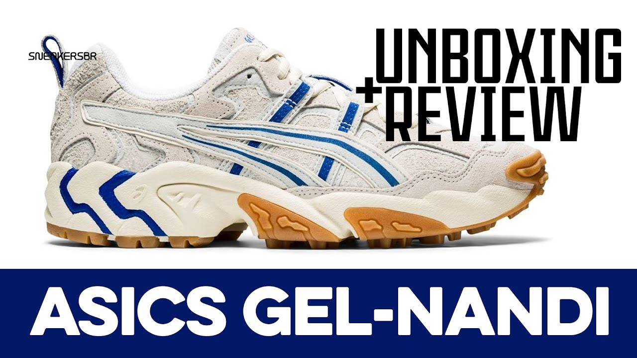 UNBOXING REVIEW - ASICS GEL-Nandi