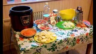Тушёная щука в мультиварке с картошкой и овощами