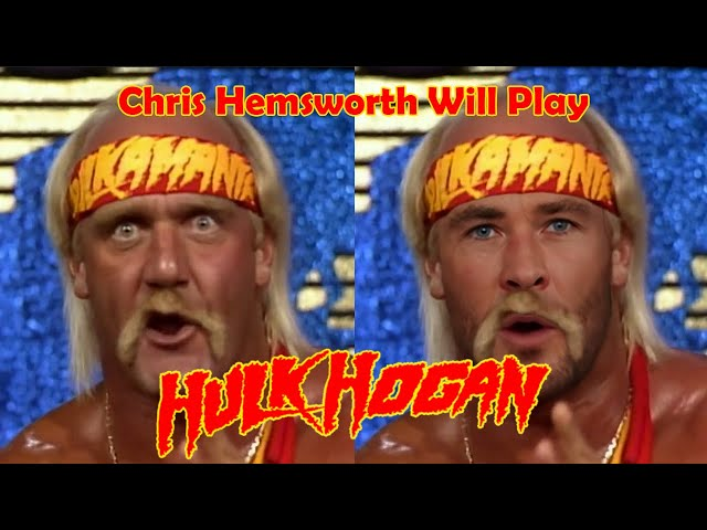 Chris Hemsworth Will Play Hulk Hogan In New Biopic!  Deepfake