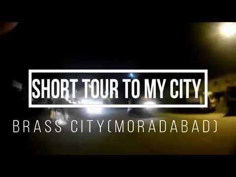 NIKHIL  MOTOVlogger  CITY TOUR  MORADABAD  (Brass City)