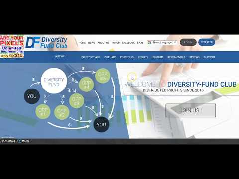 Diversity Fund Club Review…How it Works..Your Profits