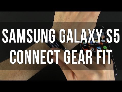 How To Set Up The Samsung Gear Fit With The Samsung Galaxy S5