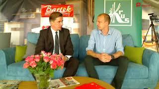 Wywiad z Wiceministrem Rolnictwa Rafałem Romanowskim - Dożynki 2017 Przasnysz