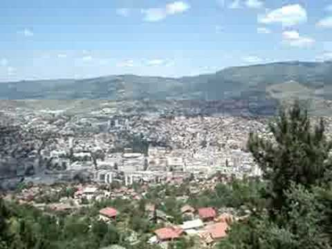 Snipers view in Sarajevo