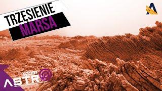 Trzęsienia 'ziemi' na Marsie - AstroSzort