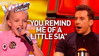 10-Year-Old POWERHOUSE shows her SUPERSTAR skills in The Voice Kids | Journey #44