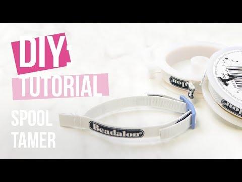 Sieraden maken: Beadalon spool tamer ♡ DIY