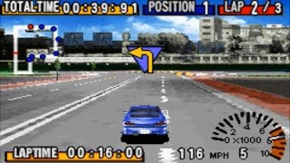 GT Advance: Championship Racing (Gameboy Advance Gameplay)