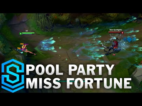 Pool Party Miss Fortune Skin Spotlight - League of Legends