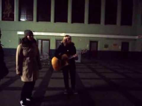 1000 Fragen (Silbermond) - Unplugged Cover @ Bahnhof Bautzen, 09.11.2013