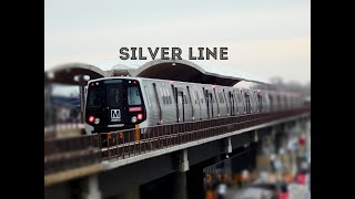 WMATA Metrorail: Silver Line (SV) to Wiehle-Reston East (OPENING DAY!)... FULL RIDE!
