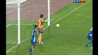 Gol de Jarque al Madrid