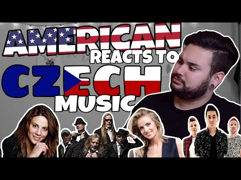 American REACTS // Czech Music thumbnail