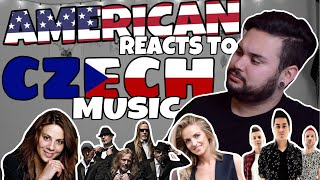 American REACTS // Czech Music