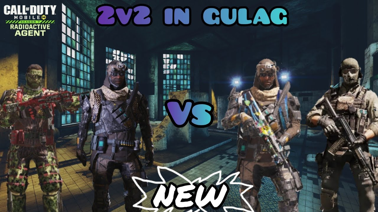 *NEW* GULAG 2v2 Map In COD Mobile ( Call Of Duty Mobile Gameplay )