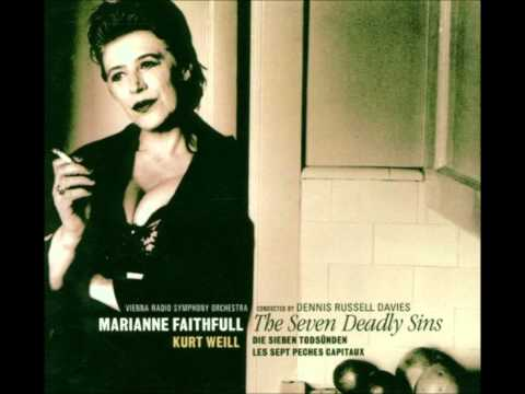 Marianne Faithfull   Bilbao Song