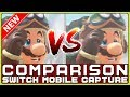 MARIO ODYSSEY COMPARISON Switch Tabletop VS Docked NEW Direct Capture Gameplay mp3