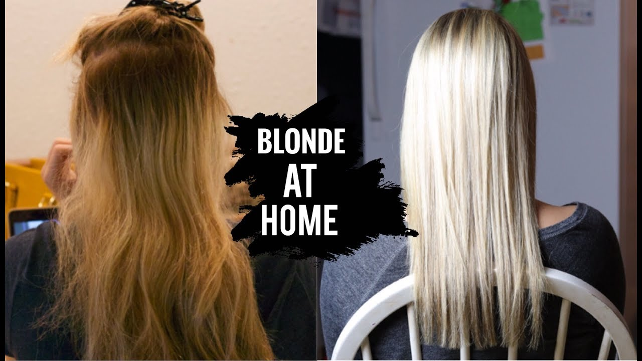 How To Get Platinum Blonde Hair At Home