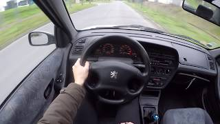 Peugeot 306 Sedan 1.8 16V (1997) - POV Drive