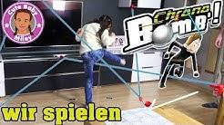 CHRONO BOMB SPIEL - meistere flink die Laserstrahlen u. entschärfe die Bombe | CuteBabyMiley