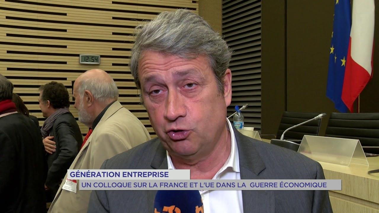 Yvelines | Génération entreprise : Un colloque sur la France et l'UE dans la guerre économique